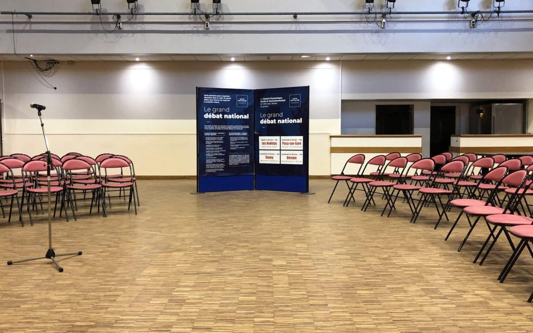 Edito : Le CESE organise 4 réunions de Grand Débat National