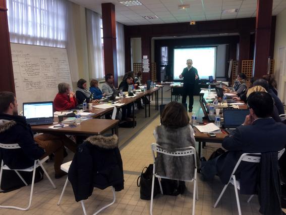 L'équipe pluridisciplinaire en charge de l'écriture du Projet de Territoire SNA